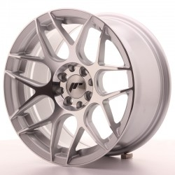 JR18 16x8 ET25 4x100/108 SILVER MACHINED