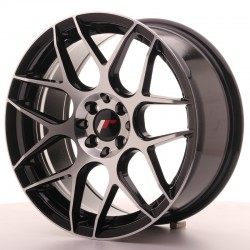 JR18 17x8 ET35 4x100/114 BLACK MACHINED