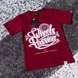CAMISETA MUJER JR PASSION RUBY RED