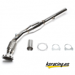 "DOWNPIPE CON CAT. 2.5"" VAG 1.8T (1996 - 2010)"