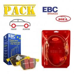 PACK PEUGEOT 206 RC EBC + HEL