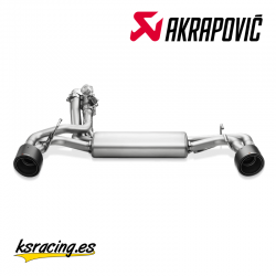 ESCAPE AKRAPOVIČ SLIP-ON LINE ABARTH 500/500C (08-17)