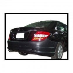 PARAGOLPES TRASERO MERCEDES W204 07-13 2-4P LOOK AMG C63 ABS