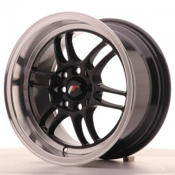 JR7 15x8 ET35 4x100/114 GLOSS BLACK