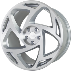 R8S5 18x8.5 ET35 5x100 MATT SILVER MACHINED FACE