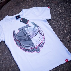 CAMISETA JR-WHEELS JR-21 WHITE