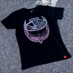 CAMISETA JR-WHEELS JR-21 BLACK