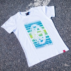 CAMISETA JR-WHEELS JR-20 WHITE