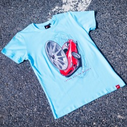 CAMISETA JR-WHEELS JR-11 TURQUESA