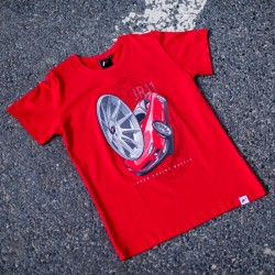 CAMISETA JR-WHEELS JR-11 ROJO