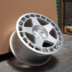 FIFTEEN52 TURBOMAC 17x8 4X108 ET42 SPEED SILVER
