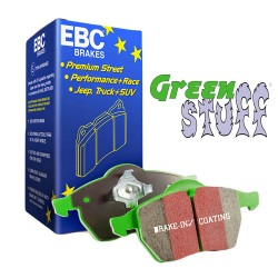 PASTILLAS DE FRENO DEL. EBC GREENSTUFF DP21383