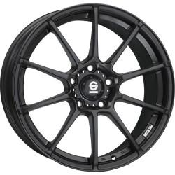 SPARCO ASSETTO GARA MATT BLACK 7.0x16 ET37 4x100